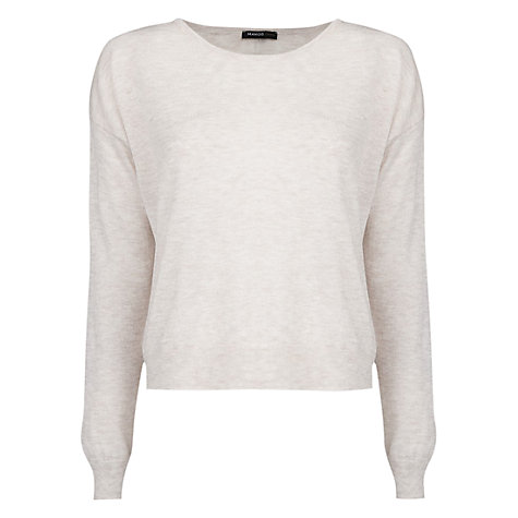 Buy Mango Wool Blend Cropped Knit Jumper Online at johnlewis.com