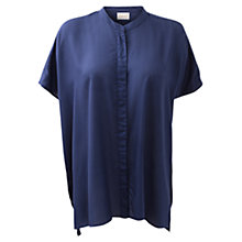 Buy East Oversized Blouse, Deep Blue Online at johnlewis.com