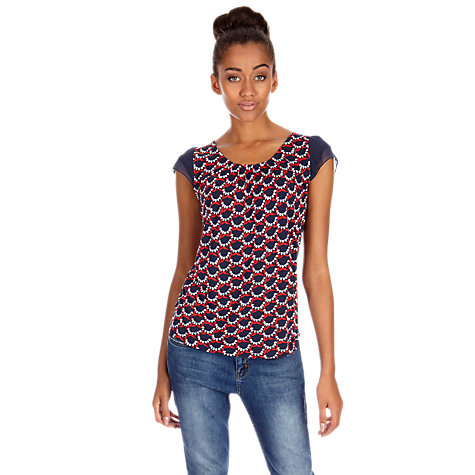 Buy Oasis Bluebell Blouse, Multi Online at johnlewis.com