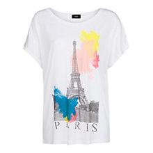 Buy Mango City Print Slub T-Shirt Online at johnlewis.com