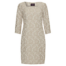 Buy allegra by Allegra Hicks Ruby Floral Jacquard Dress, Cream Online at johnlewis.com