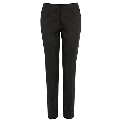 Buy Coast LA Slim Trousers, Black Online at johnlewis.com