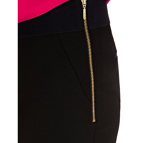 Buy Coast London Trousers, Black Online at johnlewis.com