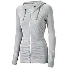 Buy Striders Edge Perforated Hoodie, Silver Online at johnlewis.com