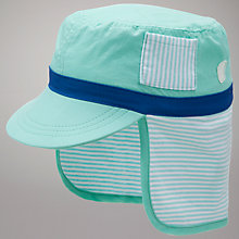 Buy John Lewis Baby Keppi Sun Hat, Green Online at johnlewis.com