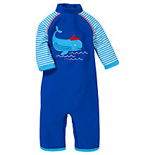 Buy John Lewis Whale Sun Pro Suit, Blue Online at johnlewis.com