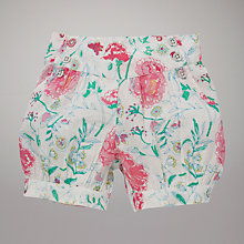 Buy John Lewis Floral Print Shorts, Multi Online at johnlewis.com