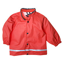 Buy Polarn O. Pyret Baby Rain Jacket, Poppy Red Online at johnlewis.com