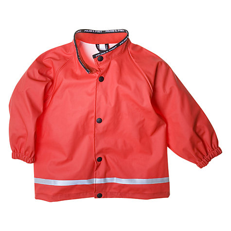 Buy Polarn O. Pyret Rain Jacket, Poppy Online at johnlewis.com