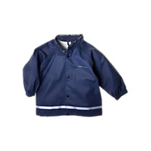 Buy Polarn O. Pyret Baby Rain Jacket, Navy Online at johnlewis.com