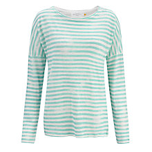 Buy Collection WEEKEND by John Lewis Dropped Shoulder Stripe Top Online at johnlewis.com