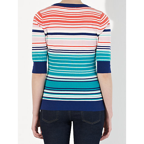Buy John Lewis Capsule Collection Basket Stitch Stripe Jumper, Multi Online at johnlewis.com