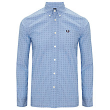 Buy Fred Perry Pin Dot Print Shirt Online at johnlewis.com