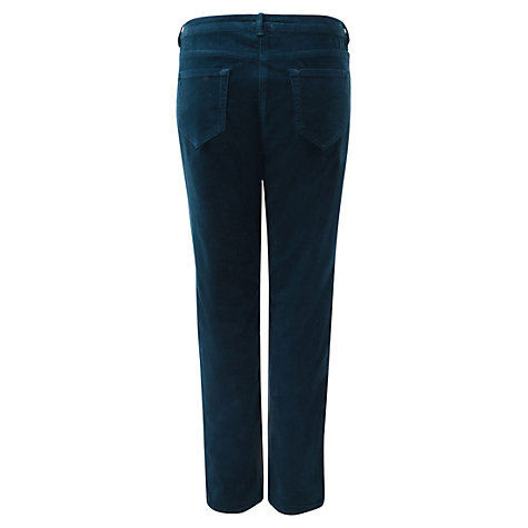 Buy East Uncut Corduroy Trouser, Blue Online at johnlewis.com