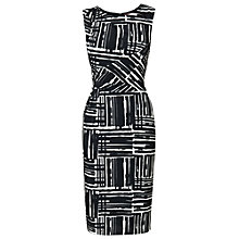 Buy Phase Eight Fiona Dress, Black/Ivory Online at johnlewis.com