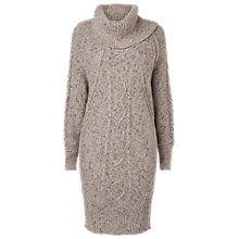 Buy Phase Eight Coral Cable Knit Tunic, Donegal Online at johnlewis.com