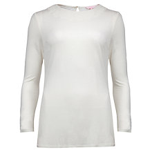 Buy Ted Baker Tammey Scallop Jersey Top Online at johnlewis.com
