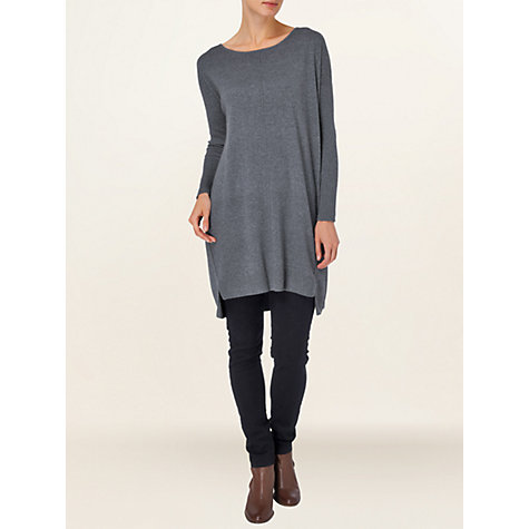 Buy Phase Eight Henri Step Hem Tunic, Slate Online at johnlewis.com