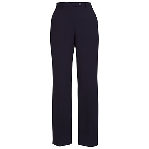 Buy Chesca Zip Pocket Trousers, Aubergine Online at johnlewis.com