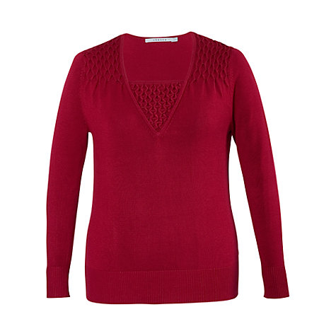 Buy Chesca Smock Bead Trim Jumper Online at johnlewis.com