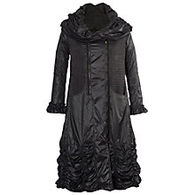 Buy Chesca Parachute Coat, Black Online at johnlewis.com