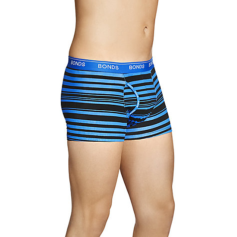 Buy Bonds Guyfront Stripe Trunks Online at johnlewis.com
