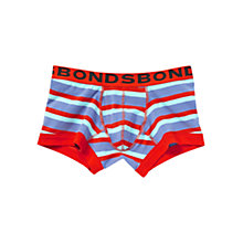 Buy Bonds Striped Fit Trunks, Red Online at johnlewis.com