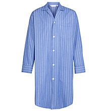 Buy Derek Rose Stripe Stripe Nightshirt, Blue Online at johnlewis.com