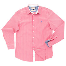 Buy Thomas Pink Latitude Stripe Shirt, Red/White Online at johnlewis.com
