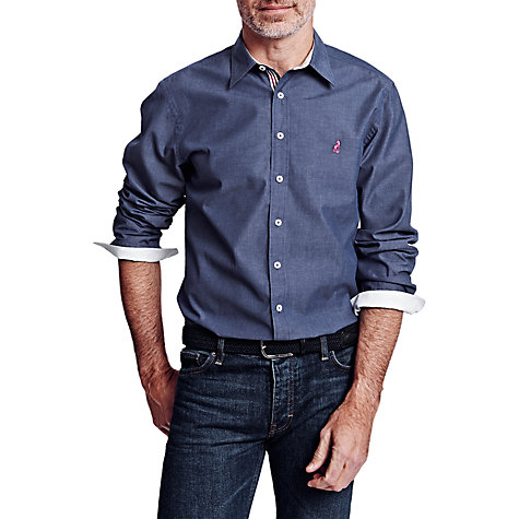 Buy Thomas Pink Landguard Plain Shirt, Blue Online at johnlewis.com