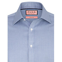 Buy Thomas Pink Morce Texture Shirt, Navy/White Online at johnlewis.com