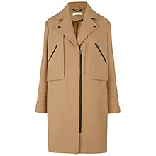 Buy Whistles Elodie Biker Coat Online at johnlewis.com