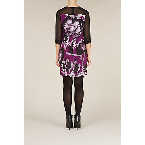 Buy Kaliko Joanna Tunic Dress, Purple Online at johnlewis.com