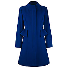 Buy Kaliko Peplum Coat, Cobalt Online at johnlewis.com