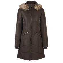 Buy Kaliko Quilted Coat, Brown Online at johnlewis.com