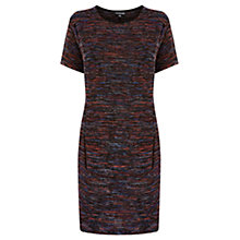 Buy Warehouse Boucle T-Shirt Dress, Multi Online at johnlewis.com