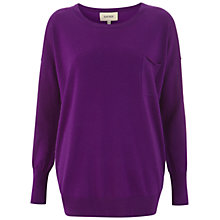 Buy Havren Crew Neck Jumper, Mauve Online at johnlewis.com