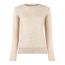 Buy Kaliko Sequin Jumper, Neutral Online at johnlewis.com