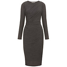 Buy Whistles Selma Bodycon Jersey Dress, Grey Online at johnlewis.com