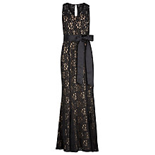 Buy Alexon Lace Maxi Dress, Black Online at johnlewis.com