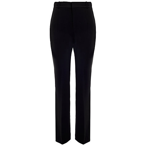 Buy Whistles Anja Tailored Trousers, Black Online at johnlewis.com