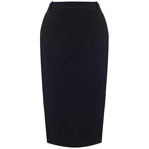 Buy Whistles Anja Tailored Pencil Skirt, Black Online at johnlewis.com