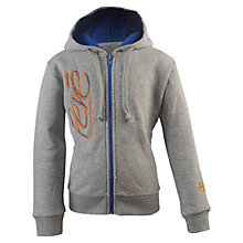 Buy Pere Children's Warm Up Hooded Fleece, Grey Online at johnlewis.com
