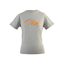 Buy Pere Kids Logo T-Shirt, Grey Online at johnlewis.com