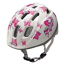 Buy Carrera Kids Butterfly Helmet, White/Pink Online at johnlewis.com