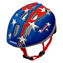 Buy Carrera Kids Flash Helmet, Blue Online at johnlewis.com
