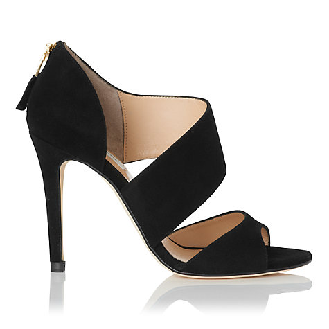Buy L.K. Bennett Agnes Court Shoes, Black Online at johnlewis.com