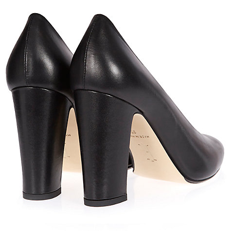 Buy Hobbs London Arna Court Shoes, Black Online at johnlewis.com