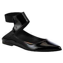 Buy Kin by John Lewis Fourteen Patent Leather Sandals Online at johnlewis.com