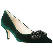 Buy L.K. Bennett Ester Velvet Court Shoes Online at johnlewis.com